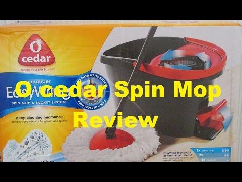 O Cedar Microfiber Easy Wring Spin Mop Review