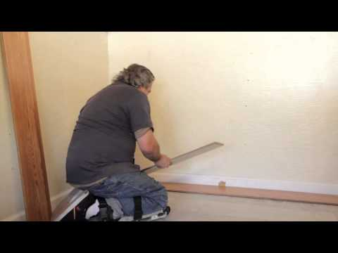 How to Stagger Floating Floors : Laminate Flooring Installation & Repair