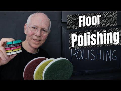 Floor Polishing - Diamond grinding and polishing