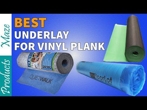 ✅ Best Underlayment For Vinyl Plank Flooring Reviews 2021 [Top Rated]