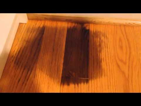 White Water Stains From Wood Floor