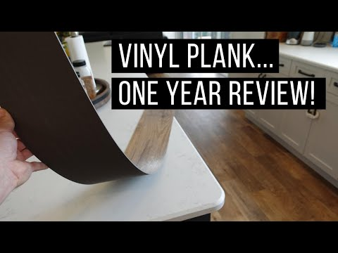 Vinyl Plank Flooring - Review After One Year in Our Home!