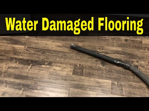 Water Damaged Laminate Flooring-How To Fix It (Without Replacing It)