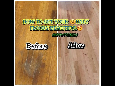Removing Stains From Hardwood Floors