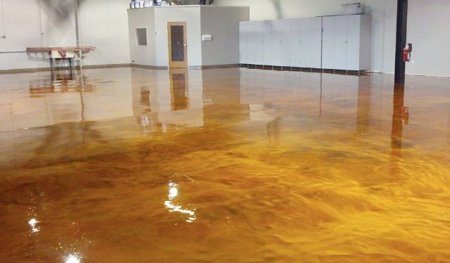 Garage 100% Solids Epoxy flooring