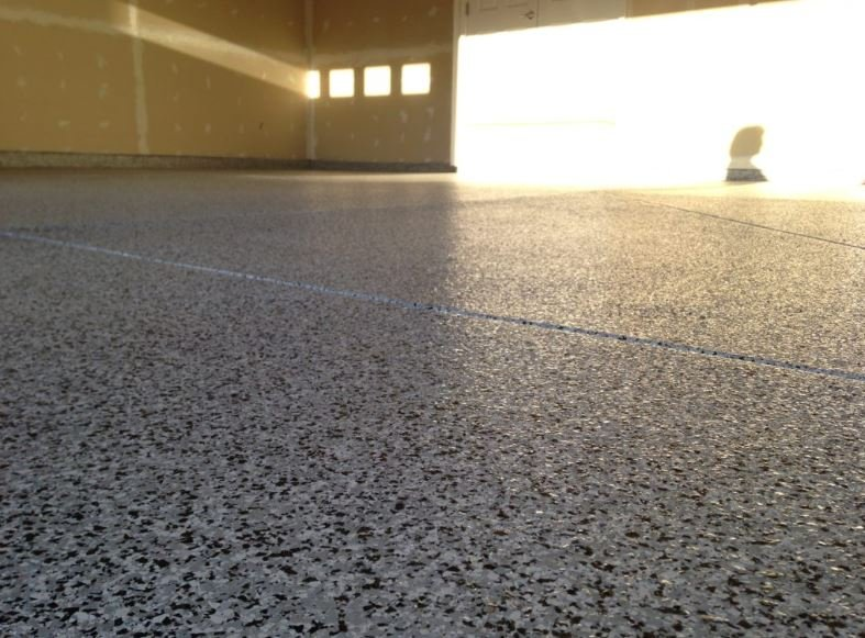 Basement garage epoxy flooring, benefits, pros and cons
