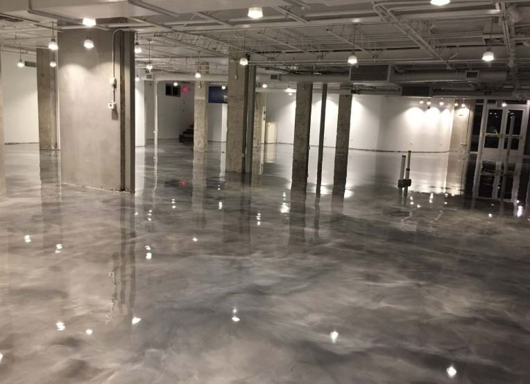 Basement garage epoxy floors reviews