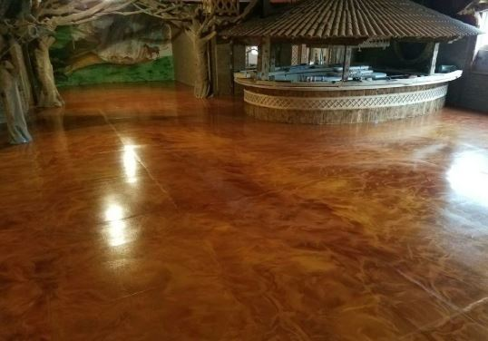 Customized garage epoxy Flooring