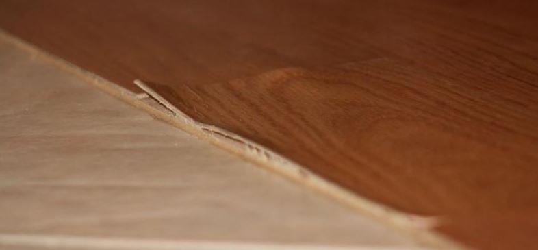 Flooring delamination problem