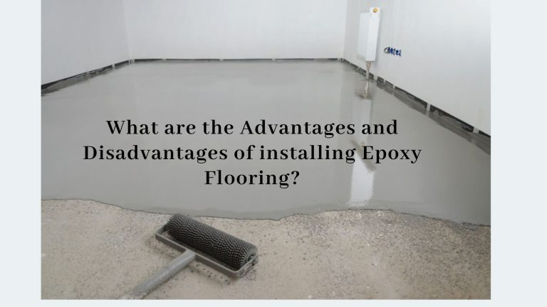 advantages and disadvantages of epoxy flooring