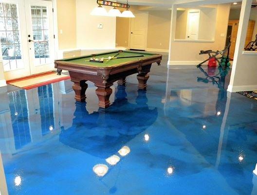 Slippery Epoxy flooring. is epoxy flooring very slippery when wet?