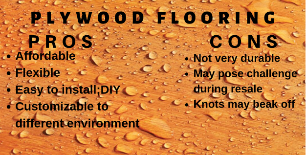 Plywood Flooring Pros and Cons