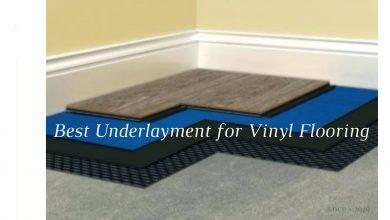 Best underlayment for vinyl flooring