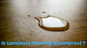 is laminate flooring waterproof