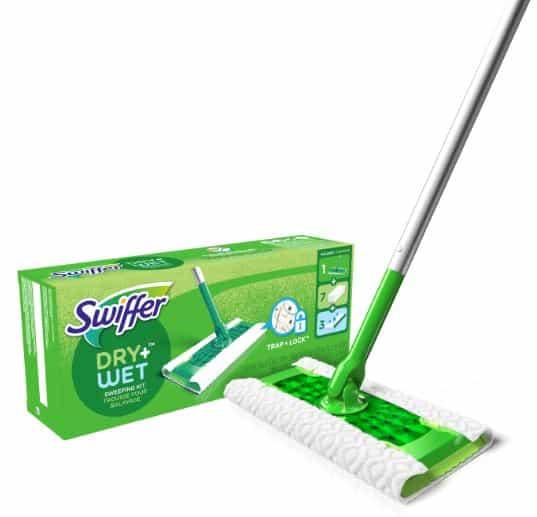 Best dust mop for hardwood floors - Swiffer Dry and Wet