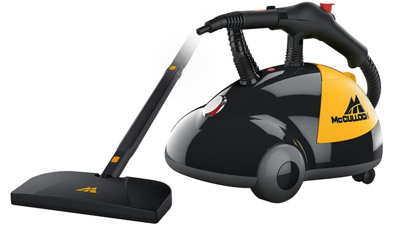 McCulloch Mc1275 heavy duty steam cleaner with 18 accessories extra long