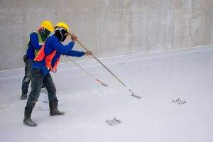 Protective gear against strong epoxy flooring fumes