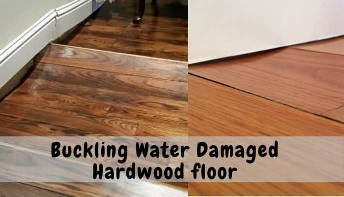 Hardwood Floor Buckling Water Damage, causes and how to fix