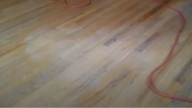 how to remove white haze on hardwood floor