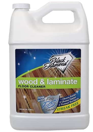 Black Diamond wood and lainate cleaner-laminate real, naturalengineered wood