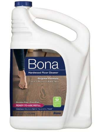 Bona Hardwood Floor Cleaner Refill, 128 Fl Oz-Best hardwood floor cleaner