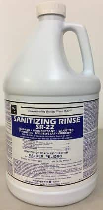 Hospital Grade Disinfecting and Sanitizing Rinse SR-22 CONCENTRATE-Best hardwood floor cleaner