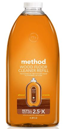 Method squirt mop hardwood floor cleaner refill almond 68 ounce