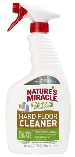 Nature's miracle hard floor cleaner-Best hardwood, laminate bamboo, vinyl floor cleaner