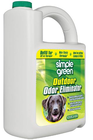 Best Cleaner For Dog Urine on Hardwood Floors-Simple Green Outdoor Odor Eliminator for Pets, Dogs, Ideal for Artificial Grass & Patio
