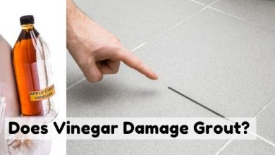 Does Vinegar Damage Grout?