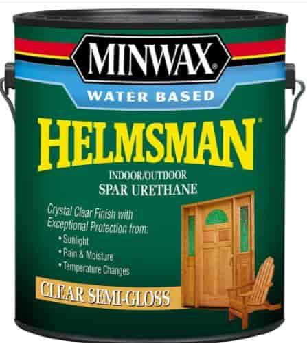 MinwaxWater Based Helmsman Spar Urethane, gallon, Semi-Gloss 710510000