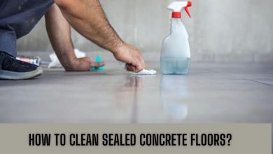 how to clean sealed concrete floor; Deep Clean Stained Sealed Concrete