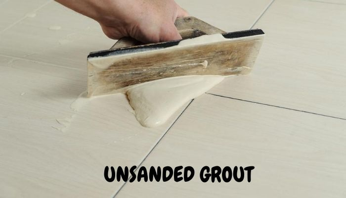 Unsanded grout pros and cons