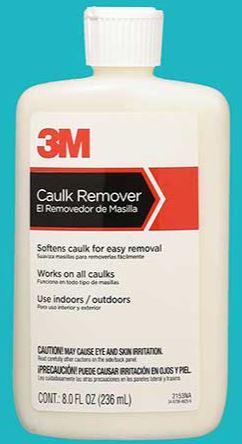 3m caulk remover