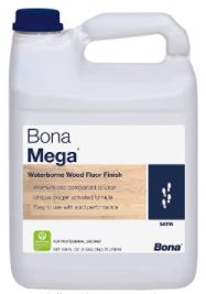Best Water Based Polyurethane for Floors: Bona Mega Wood Floor Finish Satin 1 Gallon