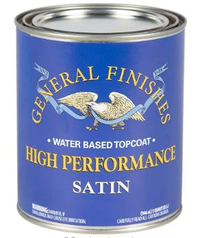 Best Water Based Polyurethane for Floors General Finishes High Performance Water Based Topcoat