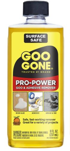 Goo-Gone-Pro-Power-Adhesive-Remover-8-Ounce-2-Pack-Use-on-Silicone-Caulk-Contractors-Adhesive-Tar-Adhesive-and-More