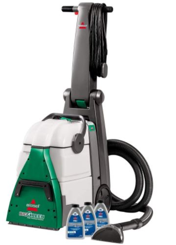 best steam cleaner for carpet: Bissell Big Green Professional Carpet Cleaner Machine, 86T3