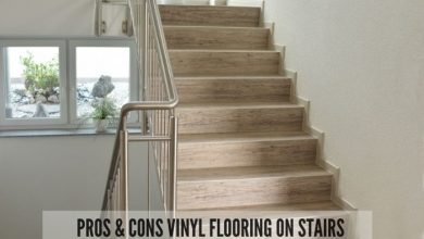 vinyl flooring on stairs pros and cons