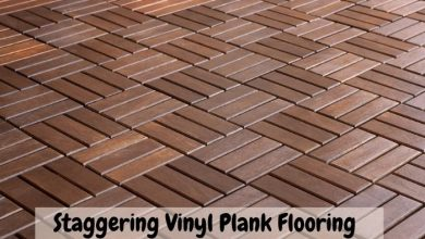 staggering vinyl plank flooring pattern repeat