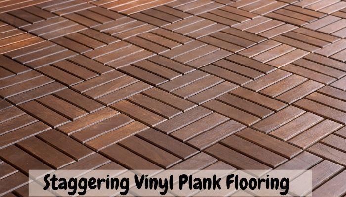 staggering vinyl plank flooring pattern repeat