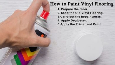 Can you paint vinyl flooring