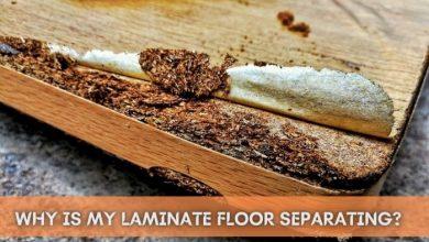 How to fix laminate flooring separating