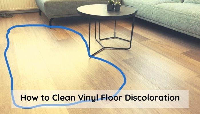 What is Vinyl Floor Discoloration?
