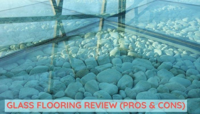 Glass flooring