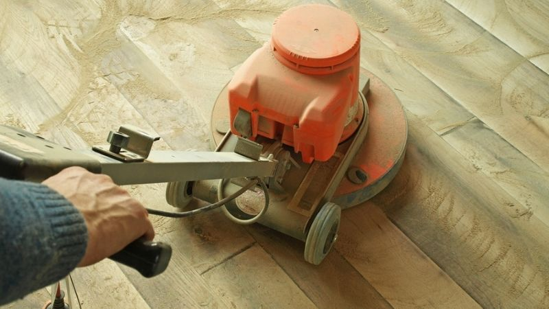 How to sand floors by hand sander yourself