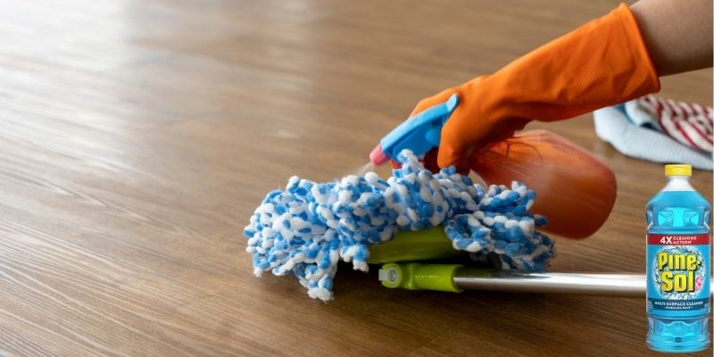 Can You Use Pine Sol for Vinyl Plank Flooring