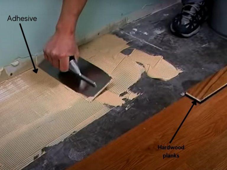 Glued down hardwood floor problems