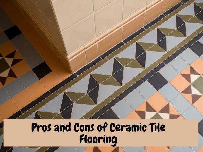 Pros and Cons of Ceramic Tile Flooring, Mosaic ceraic flooring.