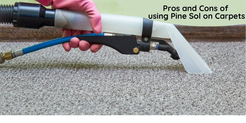 Can you use Pine-Sol in a Carpet Cleaner Machine. Pros and Cons of using Pine Sol on Carpets?